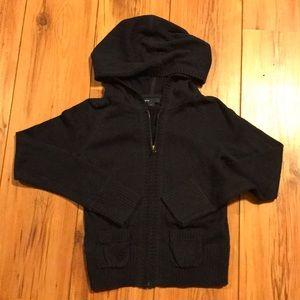 Gap Kids zip up sweater
